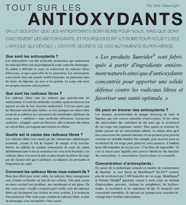 antioxydants